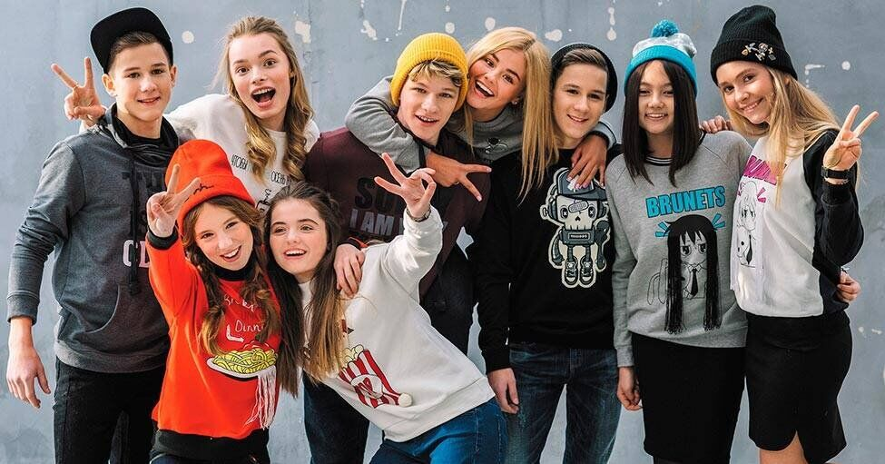 Открылся магазин модной одежды для подростков orby
